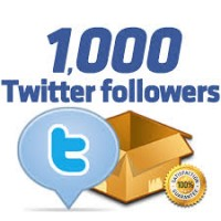 1000 Twitter Follower