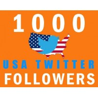 Buy 1000 USA Twitter Follower